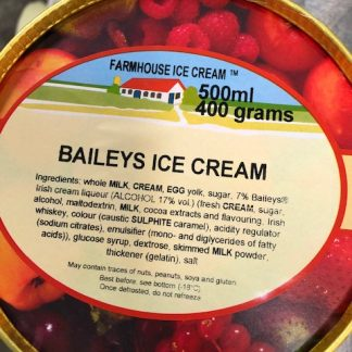 Baileys Ice Cream Lid