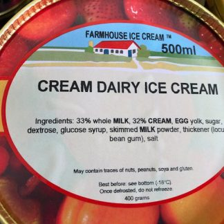 Cream Dairy Ice Cream Lid