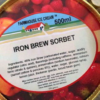 Iron Brew Sorbet Lid