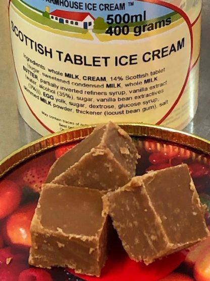 Scottish Tablet Ice Cream Multi View