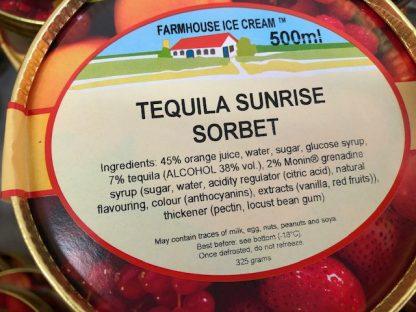 Tequila Sunrise Sorbet Lid